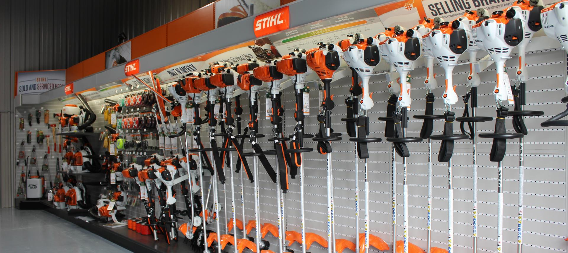 Stihl equipment selection